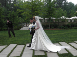 Walk down the Aisle at Umstead